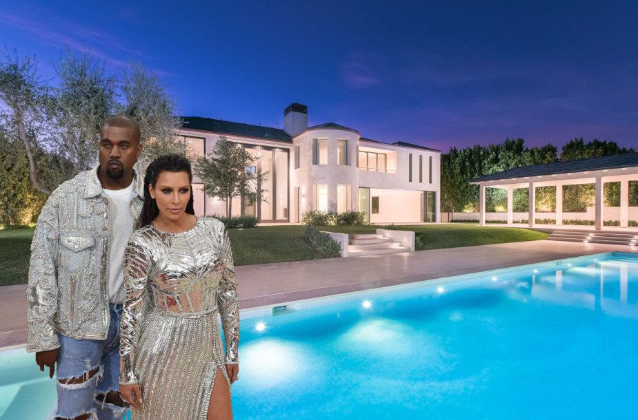 Kim Kardashian ir Kanye Westo namas Bel Ere