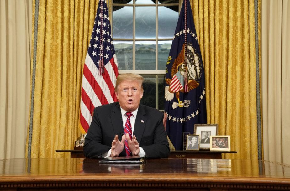 Donaldo Trumpo kalba