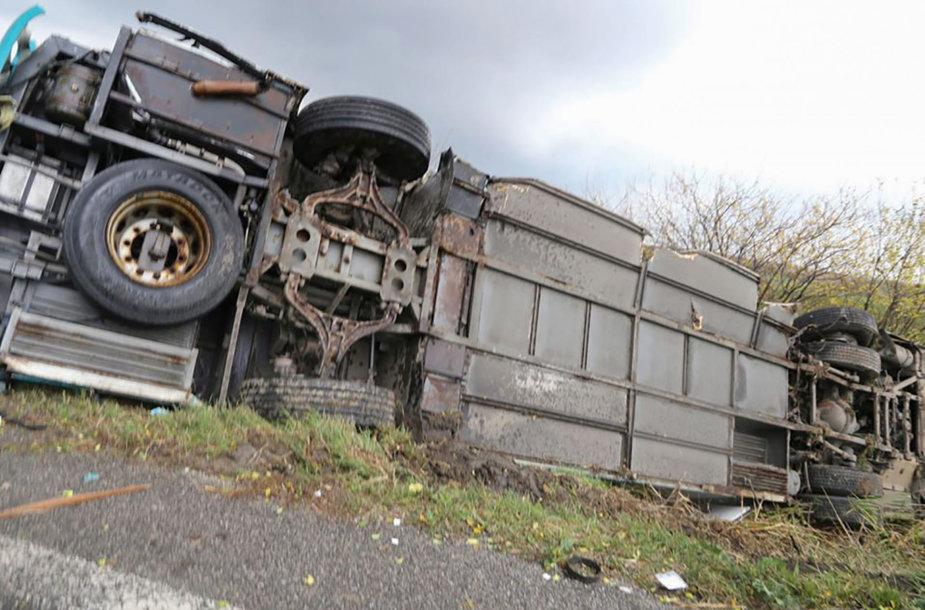 Autobuso avarija Slovakijoje