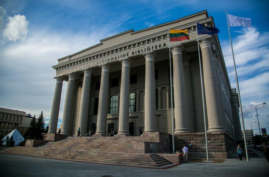 Lietuvos nacionalinės Martyno Mažvydo bibliotekos atidarymo svečiai