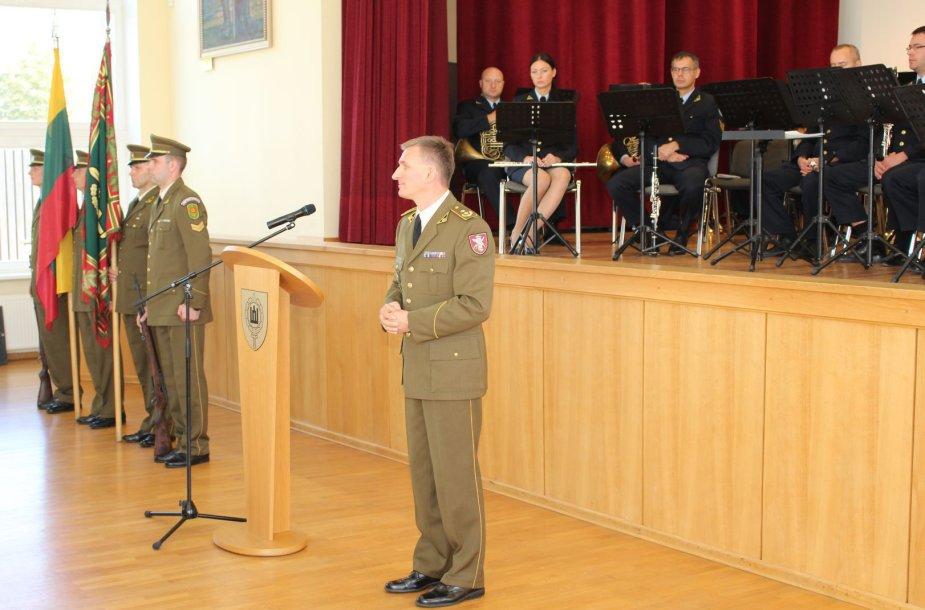 Stasys Paldūnas tapo Lietuvos kariuomenės mokyklos vadovu