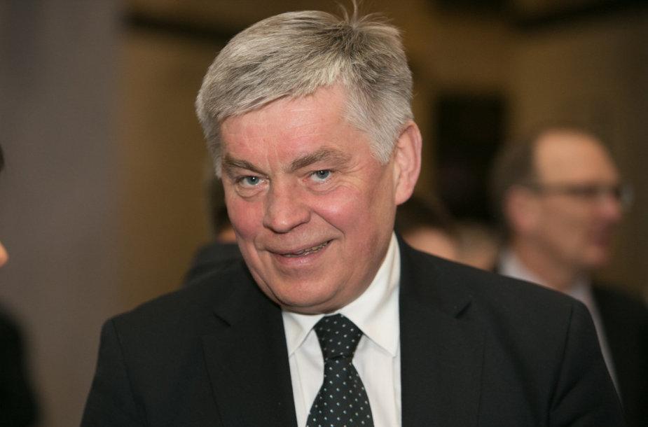 Lietuvos irklavimo federacijos prezidentas Dainius Pavilionis