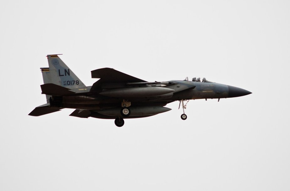 "JAV naikintuvai F-15C ""Eagle"""