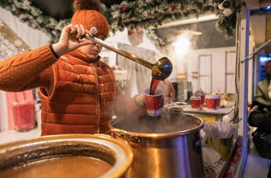 Kalėdų miestelis Katedros aikštėje