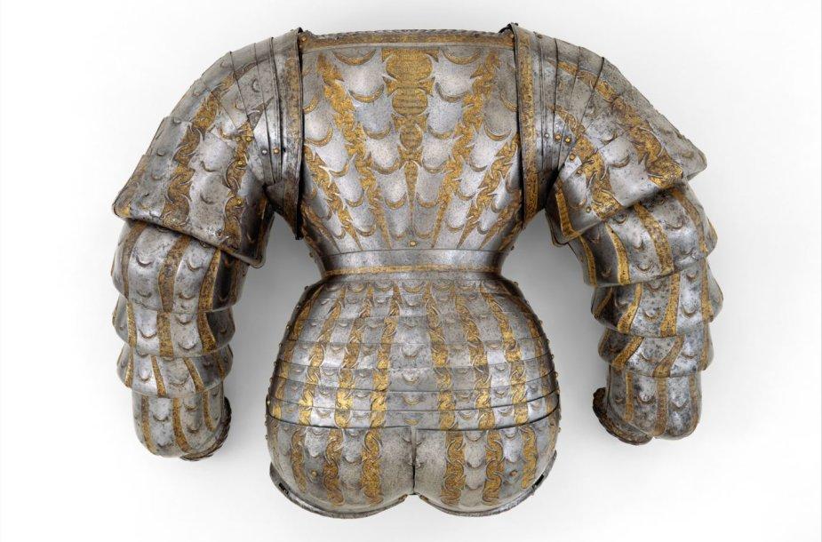 Jurgio Radvilos Perkūno šarvai Metropoliteno muziejuje Niujorke