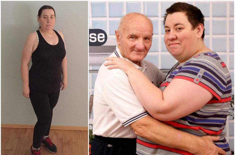 143 kilogramus anksčiau svėrusi Rima Antonovienė atsikratė 52 kg ir sustoti neketina