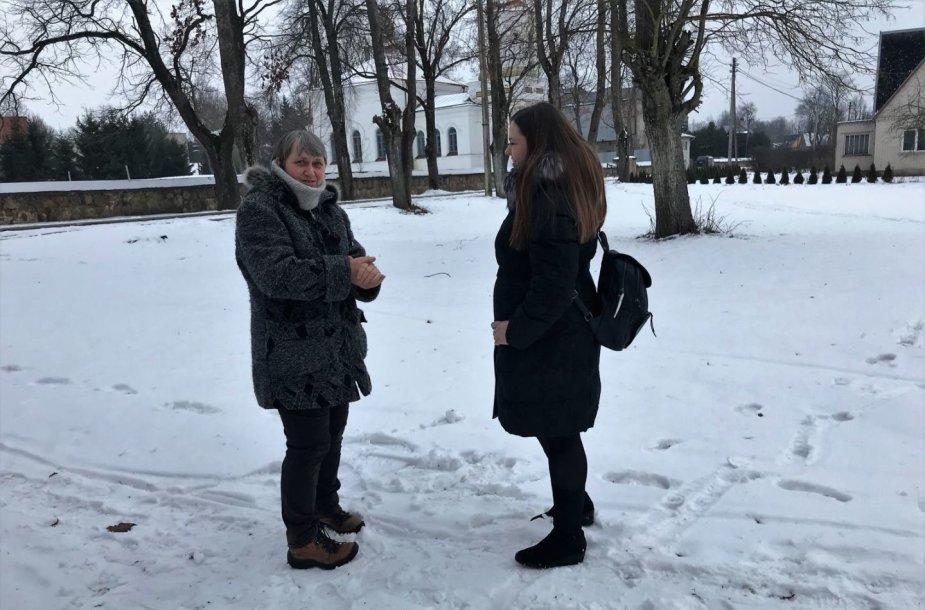 Birutė Minutkienė ir Rūta Kupetytė