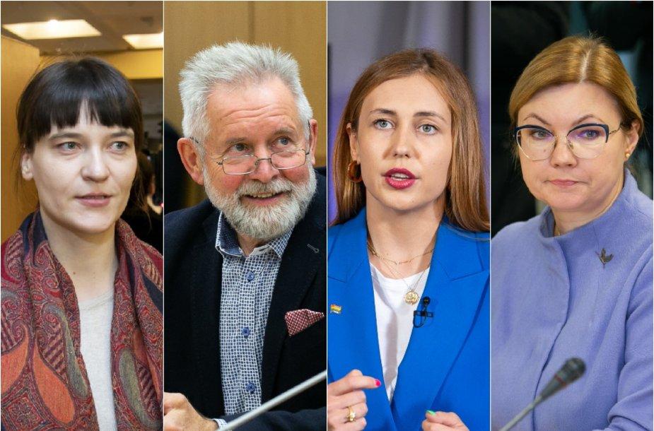 Radvilė Morkūnaitė-Mikulėnienė, Algirdas Sysas, Ieva Pakarklytė, Aušrinė Norkienė