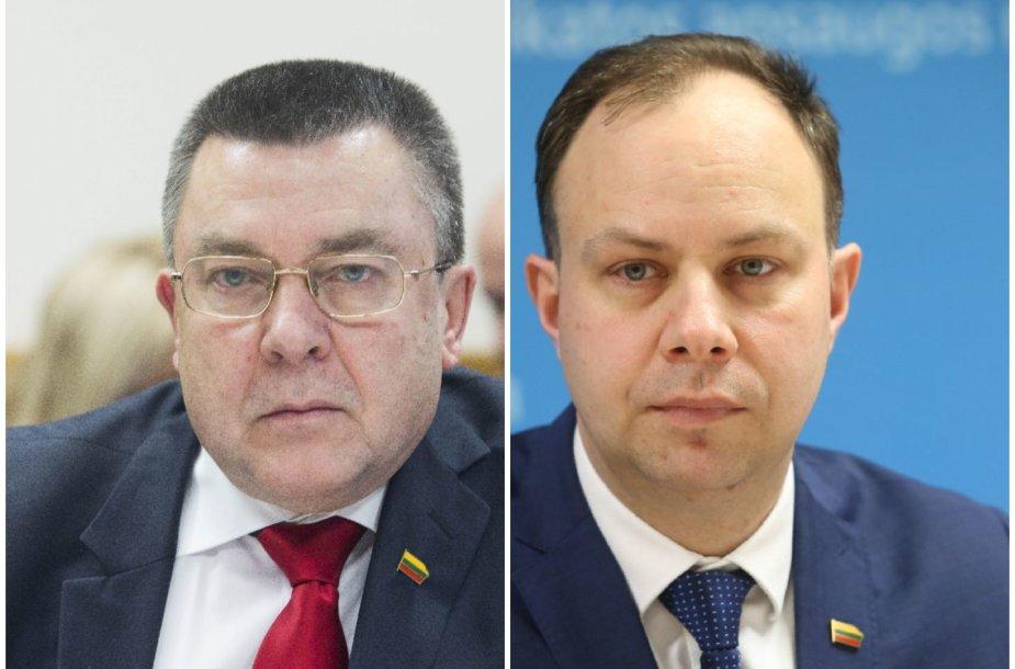 Antanas Matulas ir Aurelijus Veryga