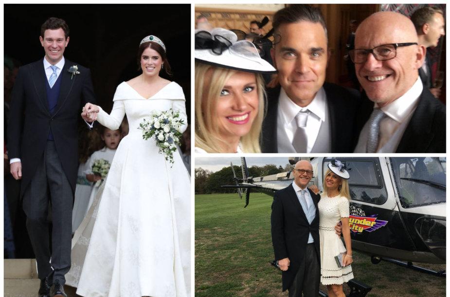 Modesta Vžesniauskaitė su mylimuoju Johnu Caudwellu dalyvavo karališkosiose vestuvėse