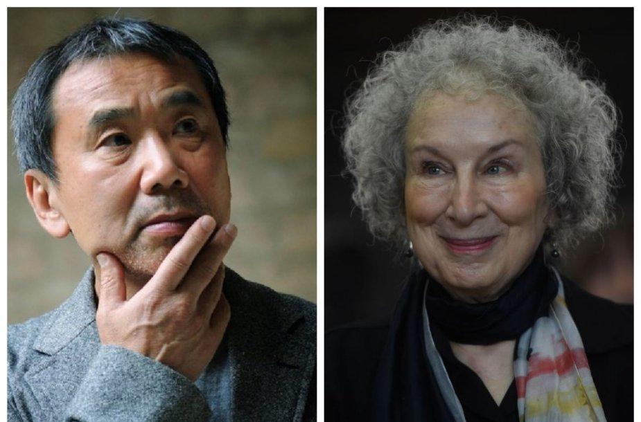 Haruki Murakami ir Margaret Atwood