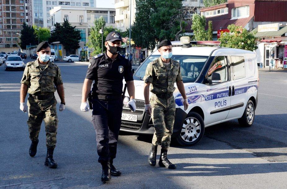 Azerbaidžano kariai