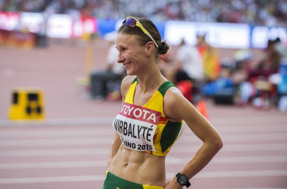 Brigita Virbalytė sėkmingai pasirodė pasaulio čempionate