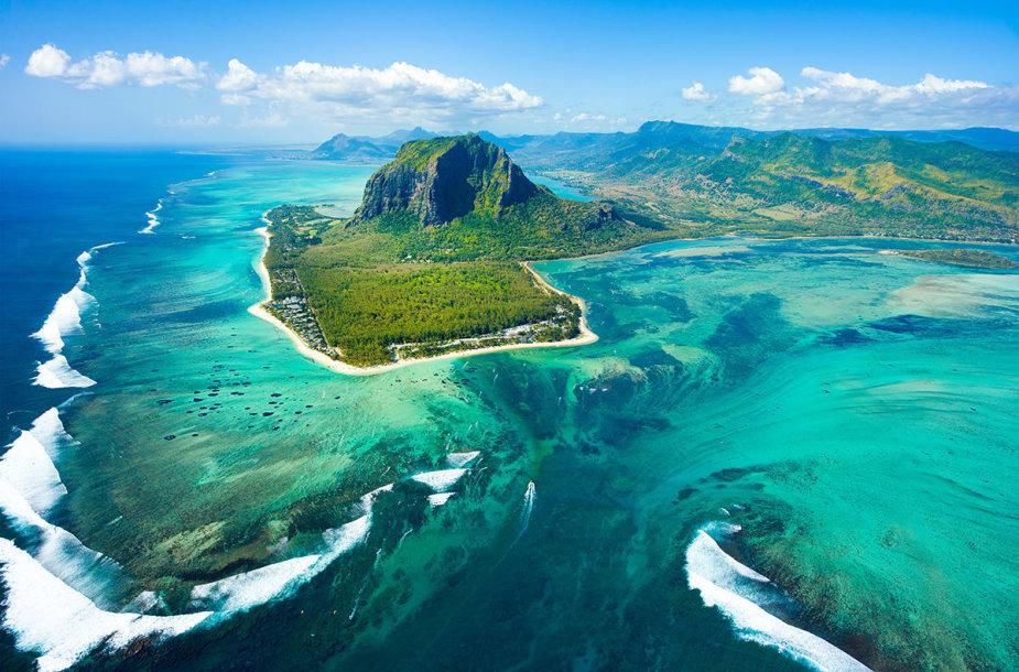 4. Povandeniniai kriokliai, Mauricijus