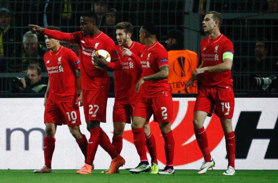 Liverpool džiaugsmas