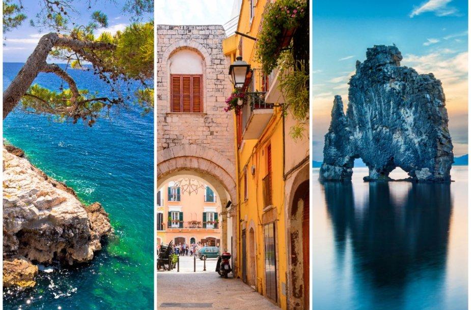 """Lonely Planet"" rekomenduojamos vietos: Istrija, Balis, Islandija"