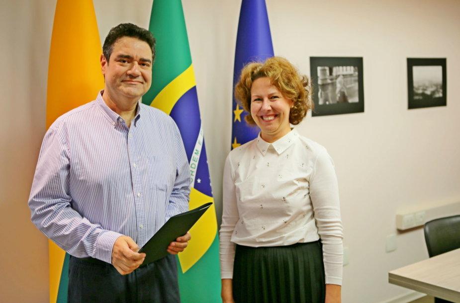 Carlosas Levensteinas pradėjo eiti Lietuvos garbės konsulo Brazilijoje pareigas