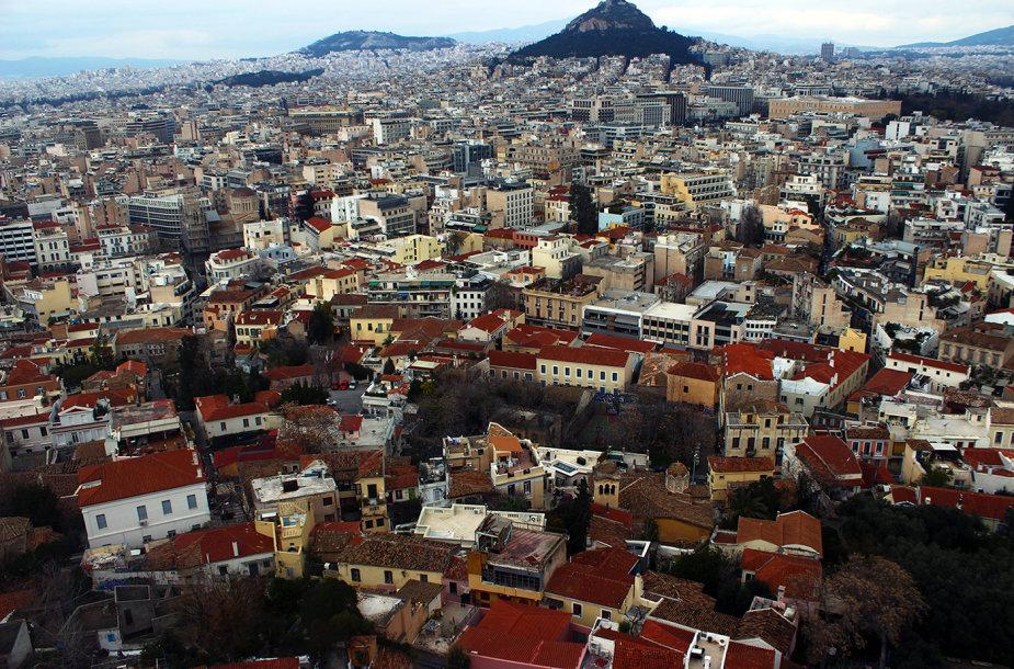 Beribiai, tačiau skoningi Atėnai