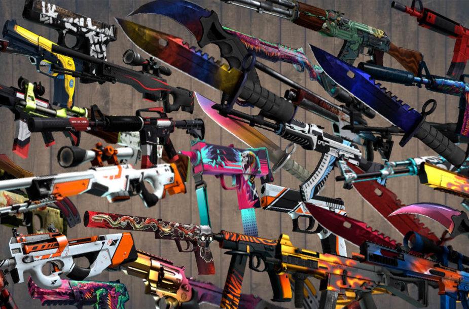 CS:GO ginklų dizainai