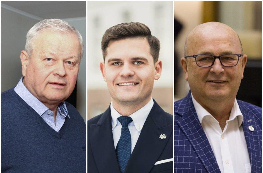 Povilas Žagunis, Dovydas Kaminskas, Visvaldas Matijošaitis