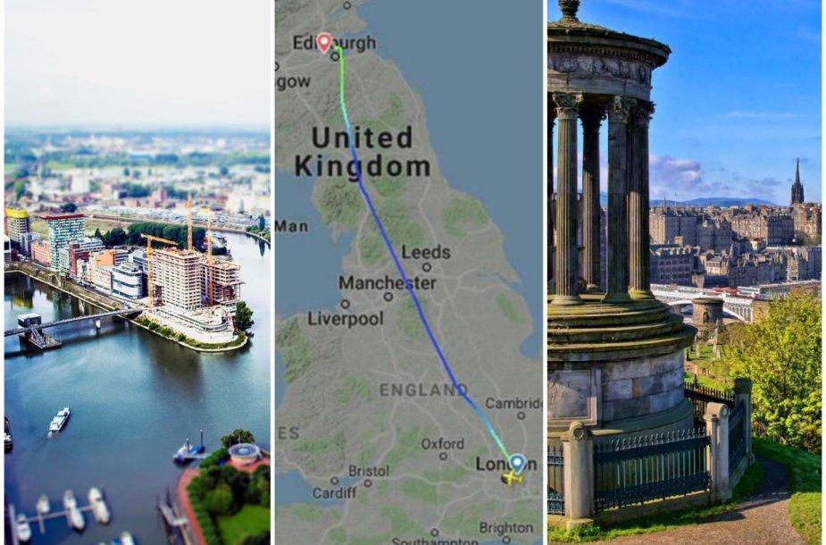 Į Vokietiją turėjęs nuskristi lėktuvas kažkodėl nusileido Škotijoje