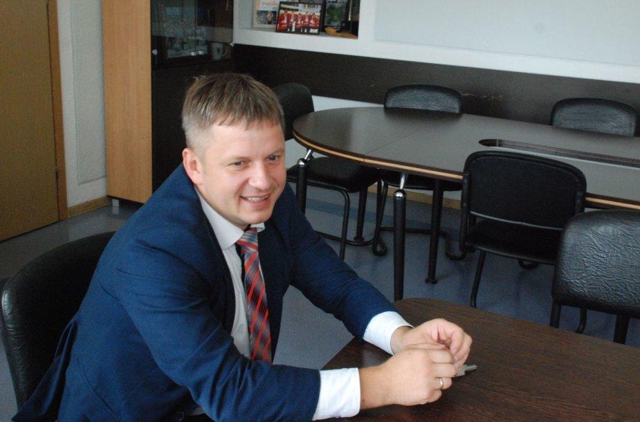 Zarasų  rajono savivaldybės administracijos direktorius Ramūnas Keršys