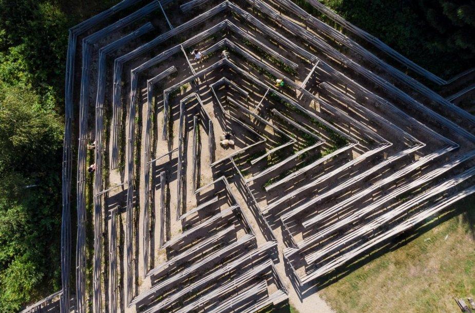 Baltų mitologijos parkas, Vadimo labirintas