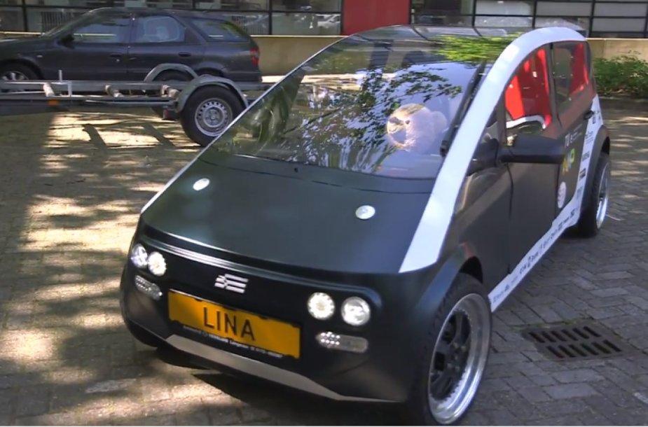 """Ekologiškiausias automobilis """"Lina"""""""