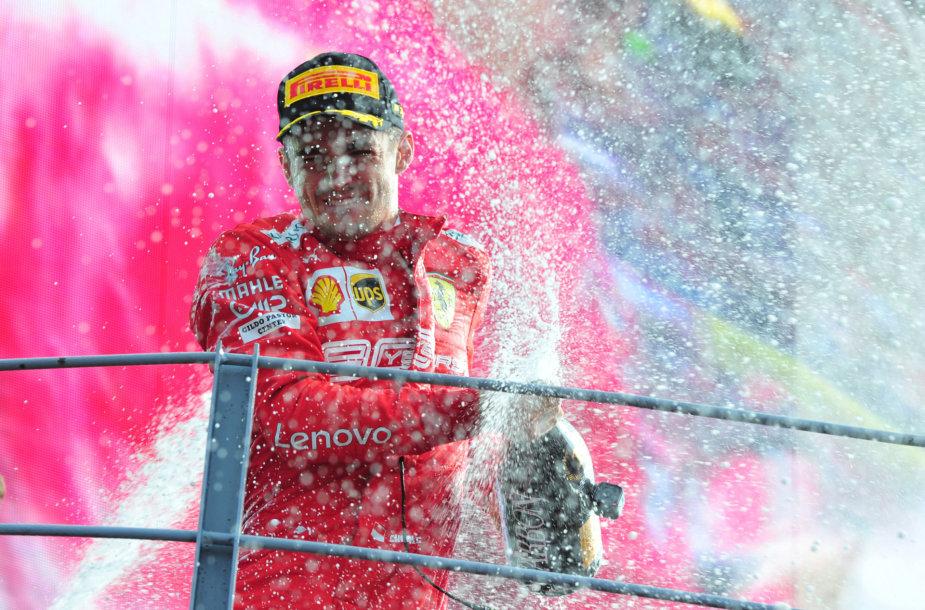 """""""Formulė 1"""" Monzoje, Italijoje"""