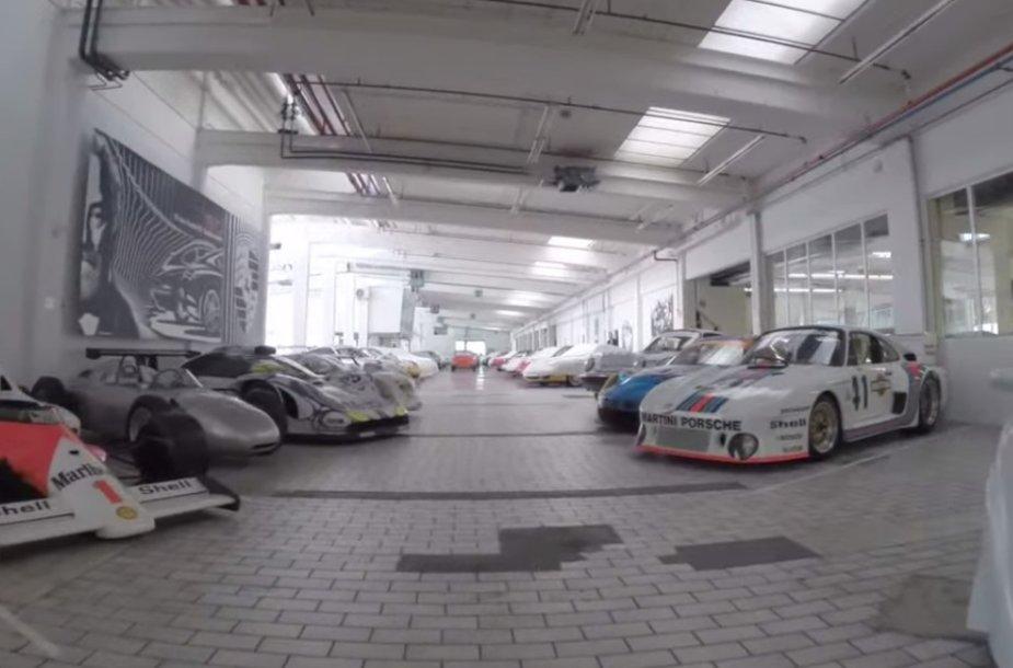 """Porsche"" garažas Štutgarte"