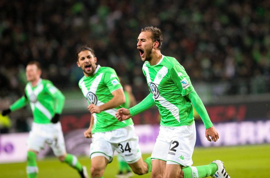 """""""Wolfsburg"""" ekipos pergalė prieš """"Bayern"""""""