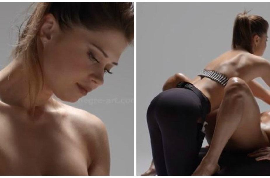 Jolanta Leonavičiūtė daro masažą