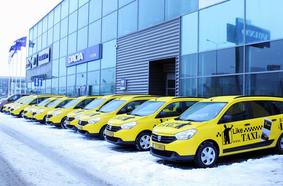 """Dacia Lodgy"" taksi automobiliai"