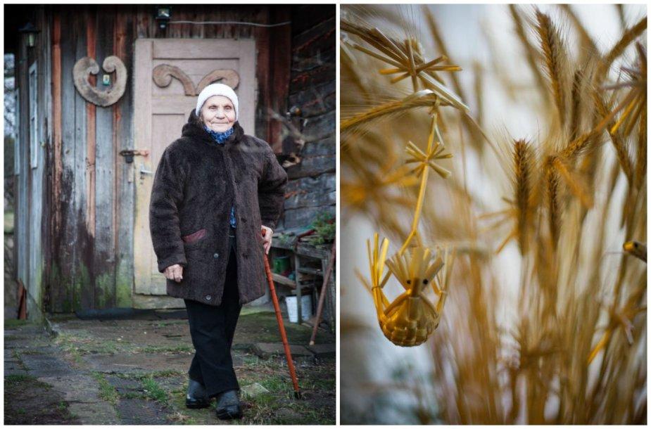 Aldona Ilickienė iš Mančiagirės kaimo