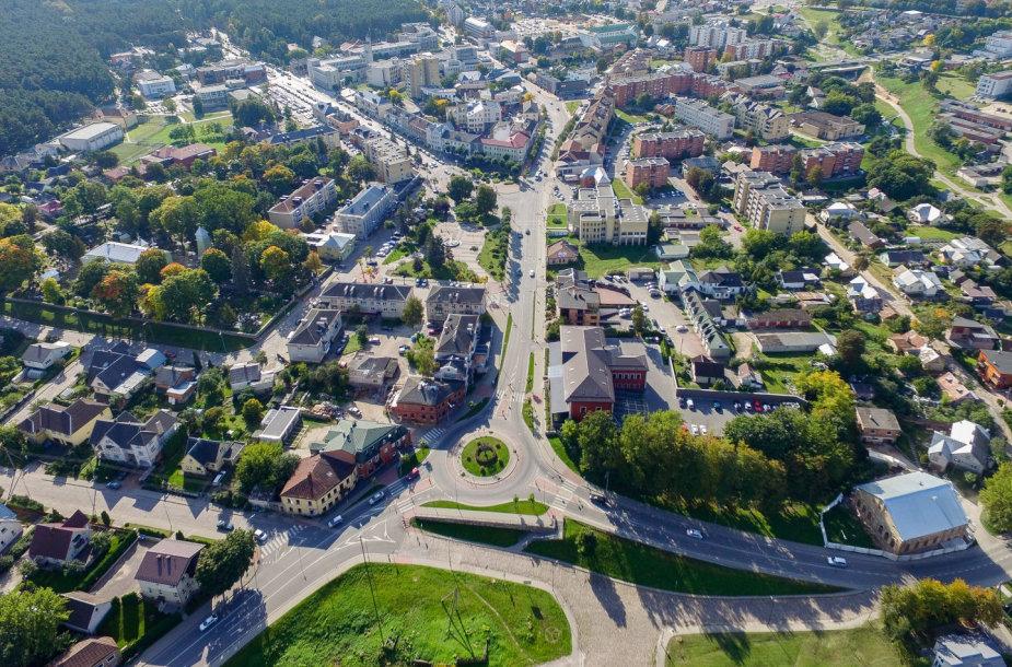 Alytaus miesto panorama