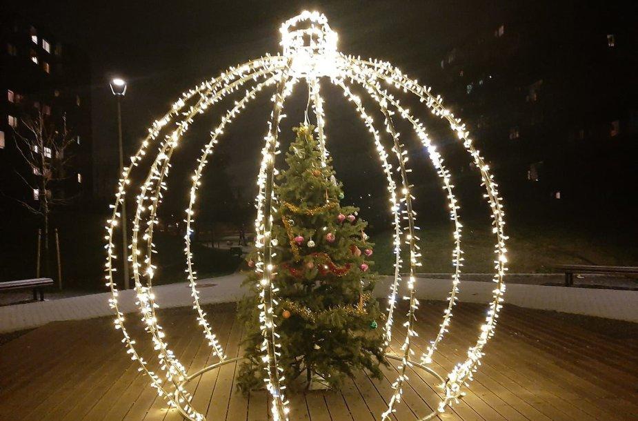 Pašilaičių kalėdinė eglė