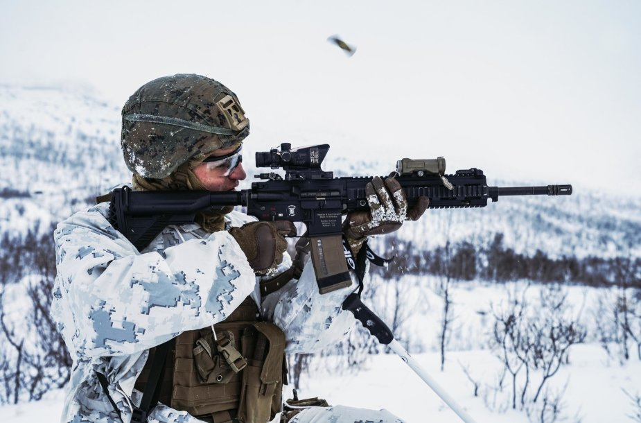 Karinės pratybos Norvegijoje