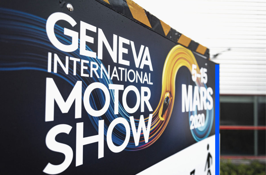 Ženevos automobilių paroda 2020