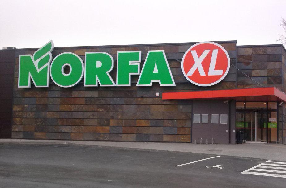 """Pirmoji """"Norfa"""" šiemet atidaryta Šeduvoje."""