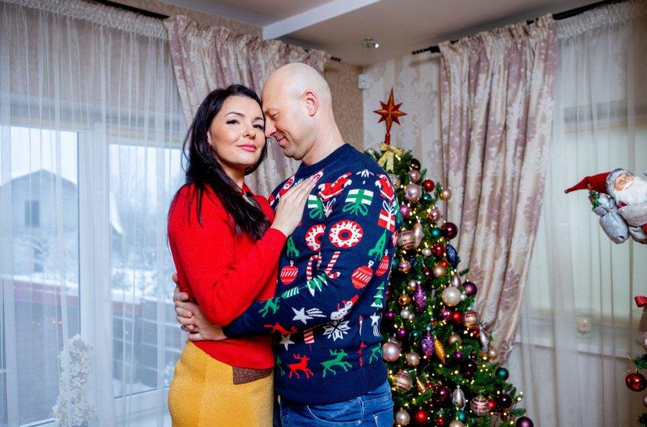 Milisandros ir Algio Radzevičių Kalėdų eglė