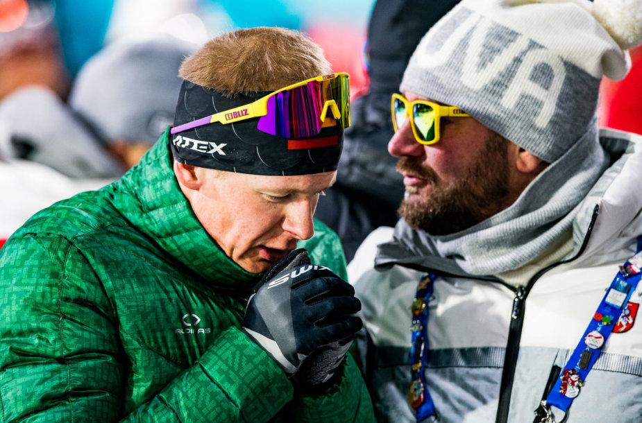 Tomas Kaukėnas liko 30-ias biatlono bendro starto lenktynėse.