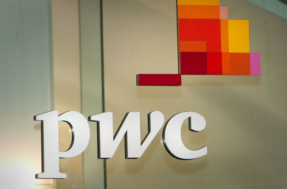 """PricewaterhouseCoopers"" logotipas"