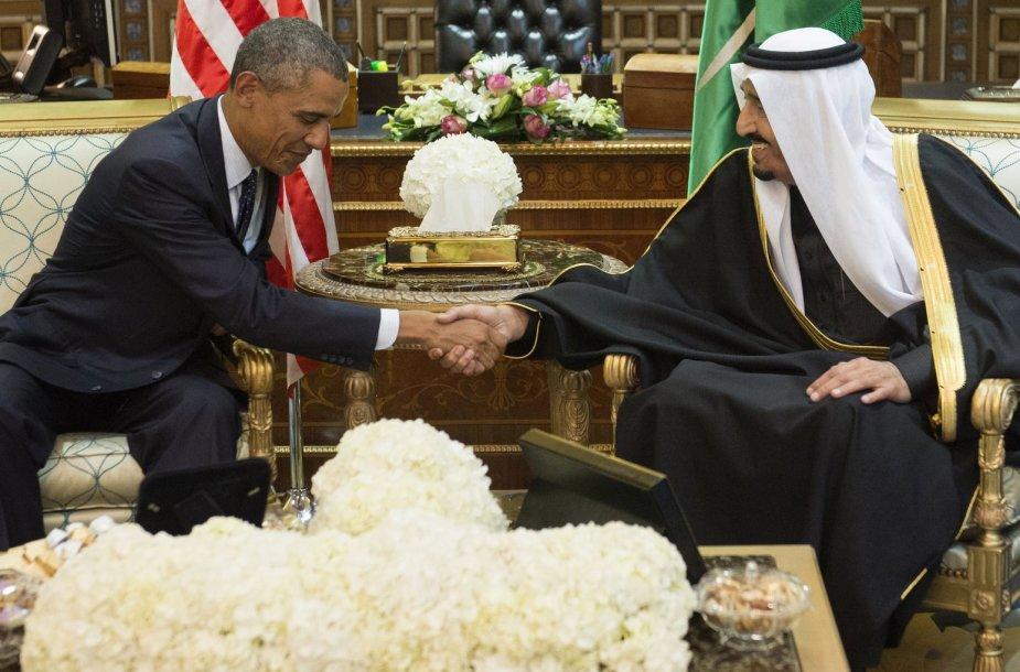 Barackas Obama Saudo Arabijoje