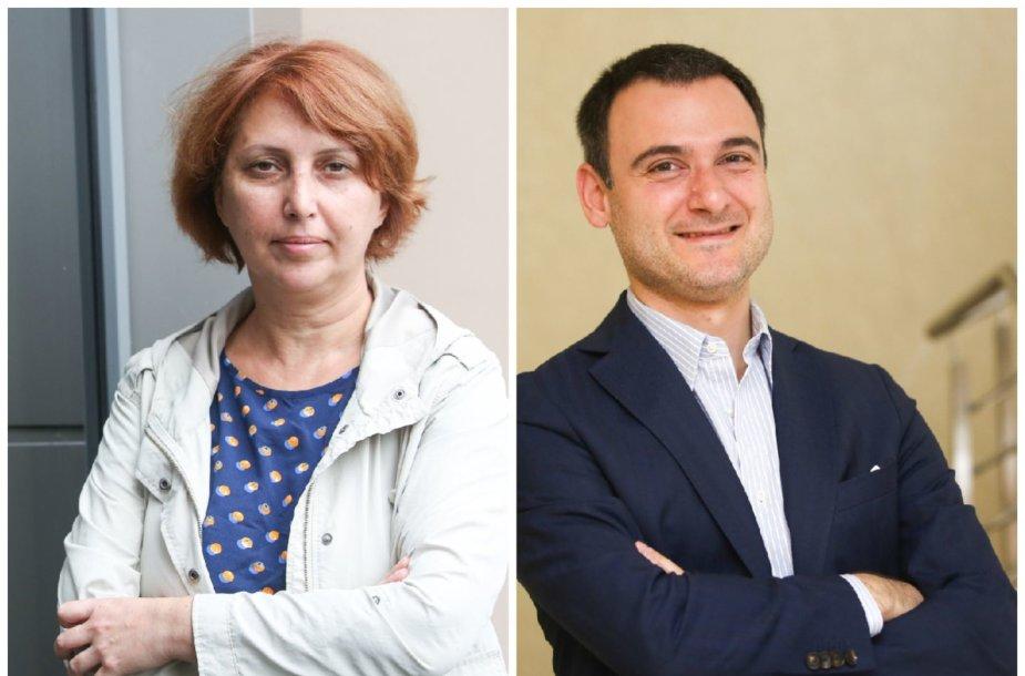 Irakli Porchkhidze ir Tamar Kintsurashvili