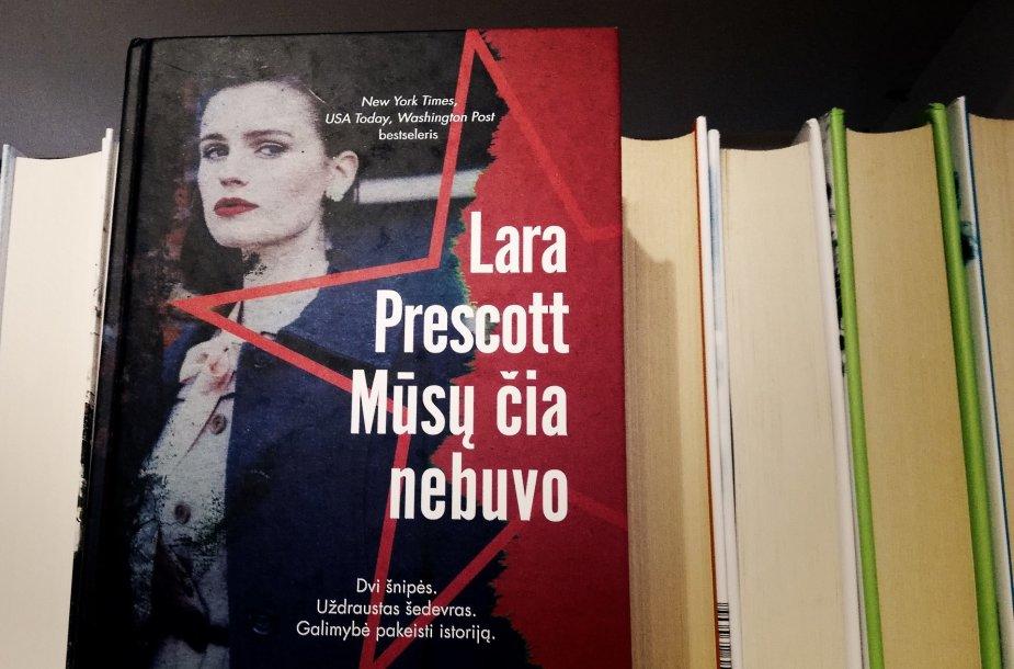 """Laros Prescott knyga """"Mūsų čia nebuvo"""""""