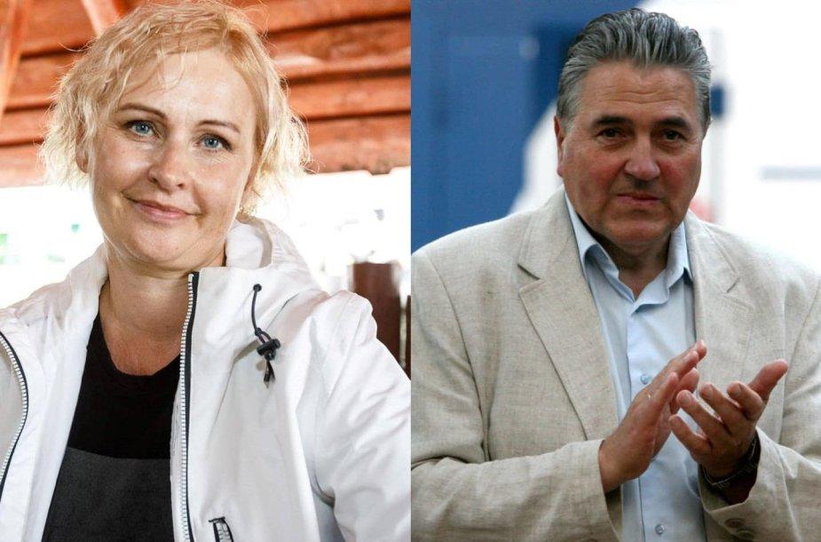Rūta Janutienė ir Liudas Jonaitis