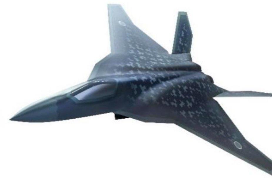Tai – kol kas vienintelė japoniško 6 kartos naikintuvo F-X koncepcijos iliustracija