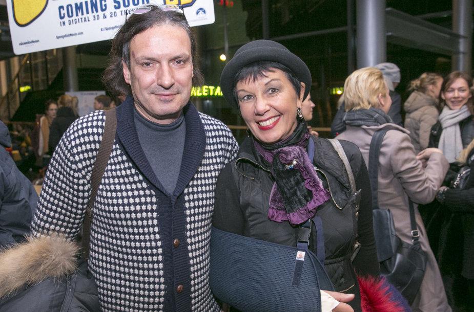 Darius Užkuraitis ir Nijolė Statkutė