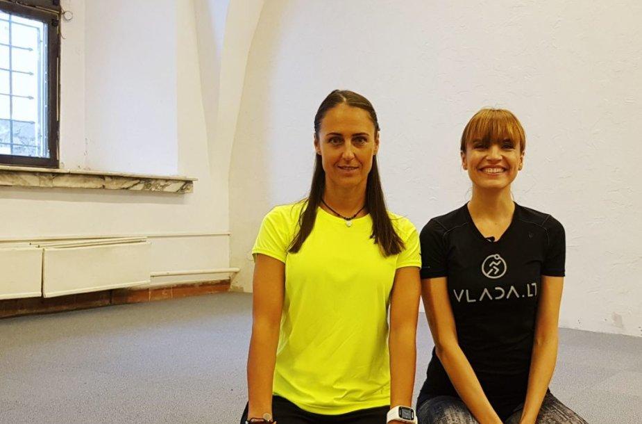Simona Pajaujienė ir Vlada Musvydaitė