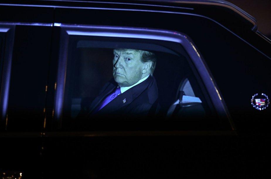 Donaldas Trumpas atvyko į Vietnamą